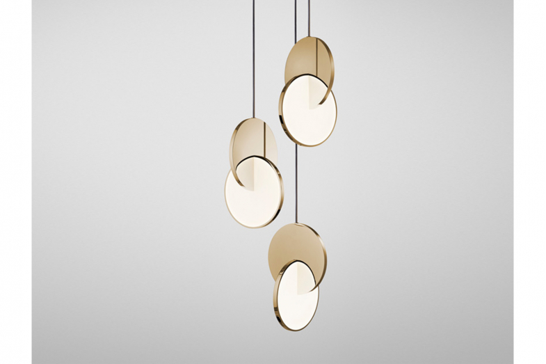 Eclipse Chandelier 3 Piece by Lee Broom