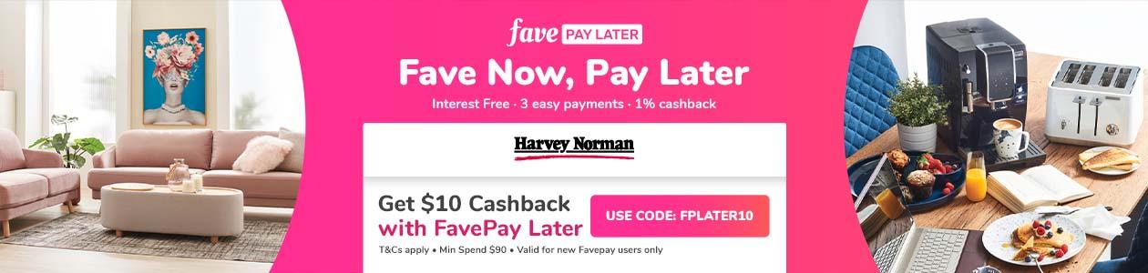 FavePay @ Harevy Norman