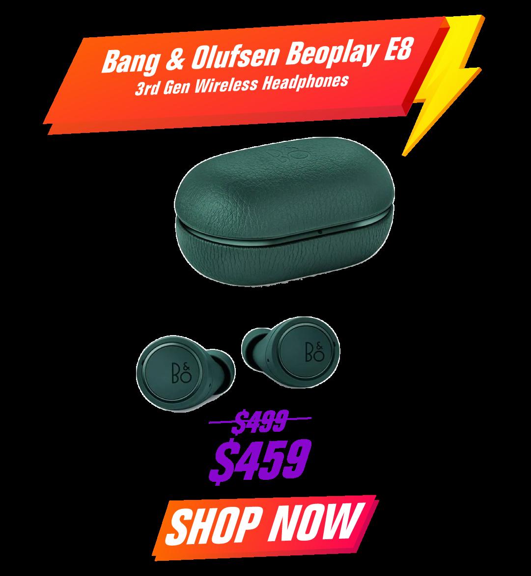 Bang & Olufsen Beoplay E8 3rd Gen Wireless Headphones - Green
