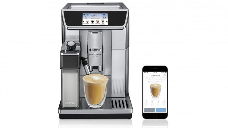 delonghi built in coffee machine