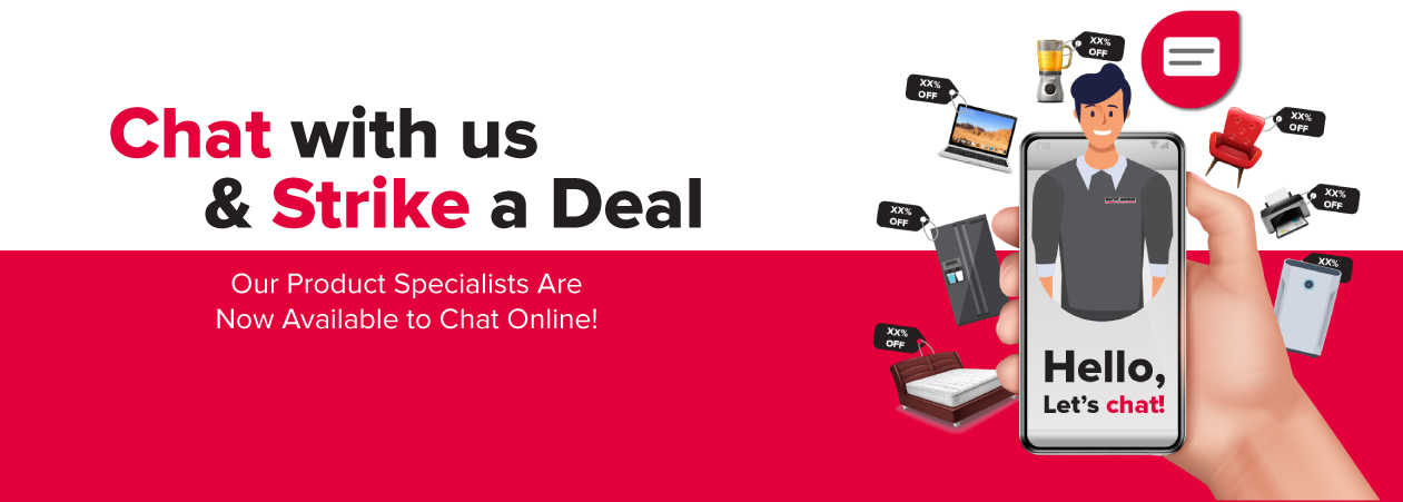 Chat with us & Strike a Deal!