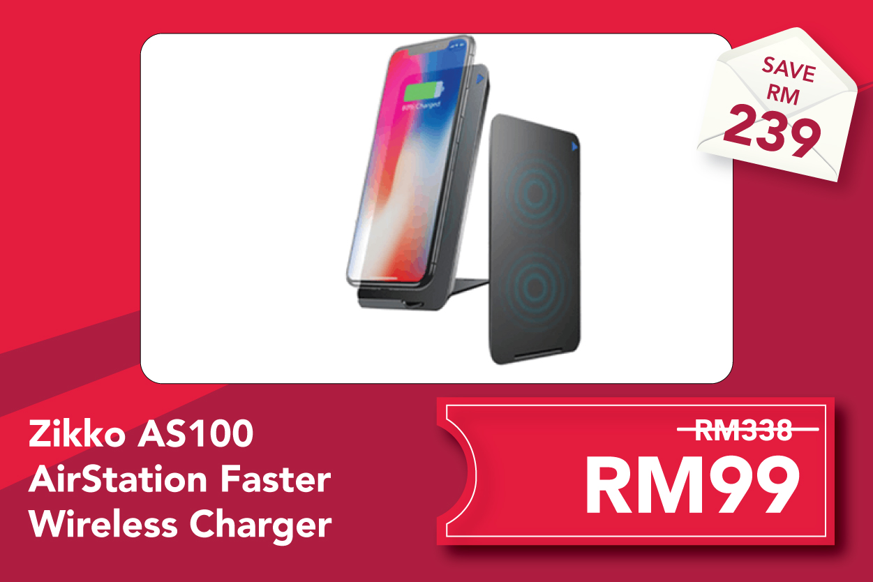 Zikko AS100 AirStation Faster Wireless Charger