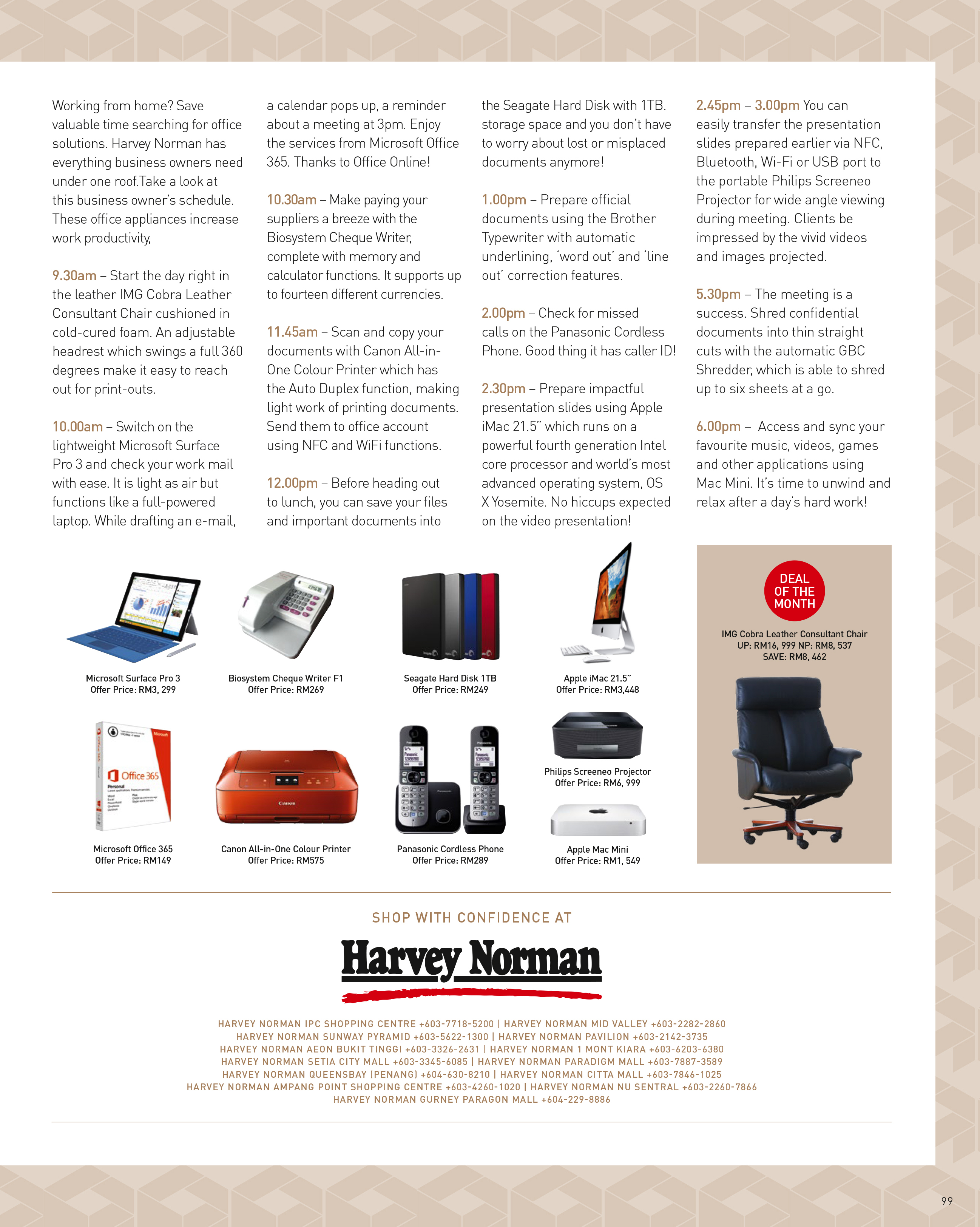 March: Office Solutions | Harvey Norman Malaysia