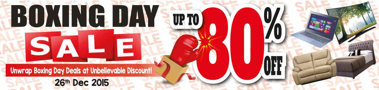 Boxing Day Sale Harvey Norman Malaysia