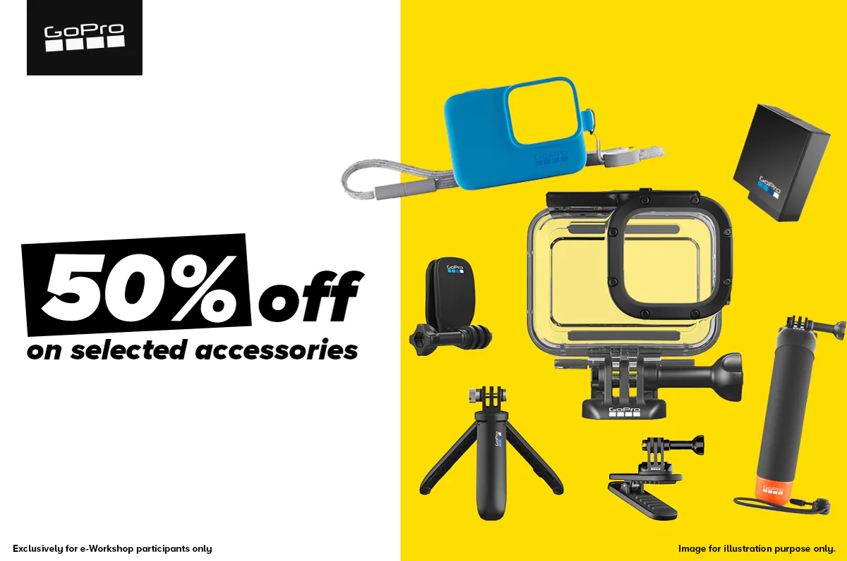 50% off on all Accessories