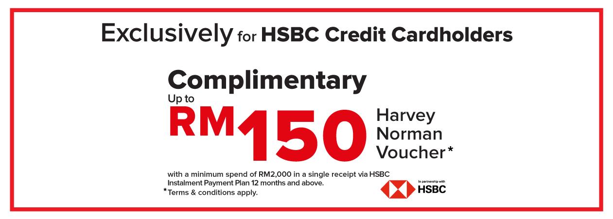HSBC Bank Promo | Harvey Norman Malaysia