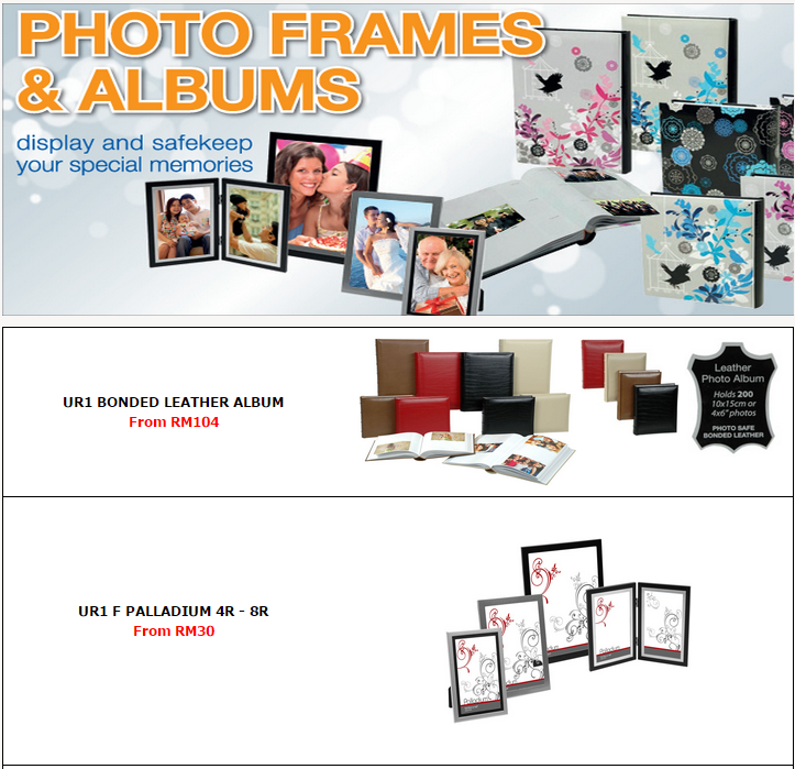 Photo Frames and Albums | Harvey Norman Malaysia