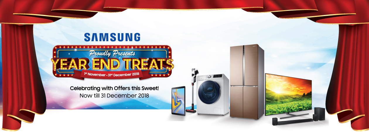 Samsung Year End Promotion Harvey Norman Malaysia