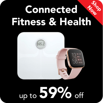 Black Friday Sale : Connected Fitness & Health