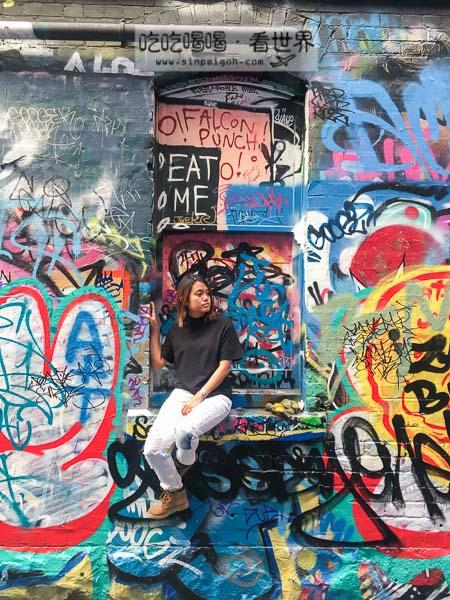 墨爾本塗鴉街