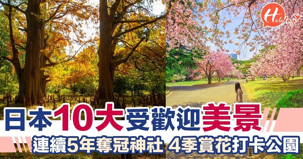 日本10大最受遊客歡迎嘅地方!全部都靚到好似仙境~超有日本特式!識去一定去呢度!