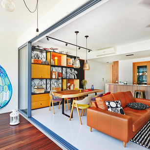 Moving Past White Boxes to Modern Colourful Homes