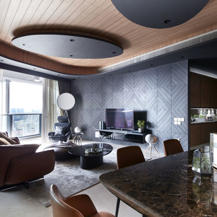 12 Interior Designs with Amazing Curves and Geometric Shapes