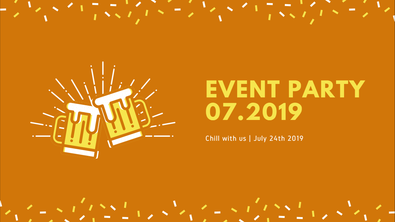 Event party in July: together, with Briswell