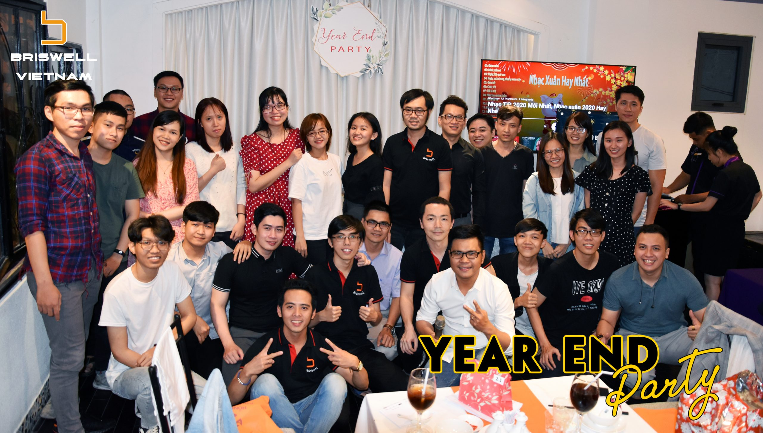Year End Party 2019 – Briswell Việt Nam