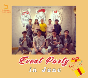 Event Party Tháng 06/2020