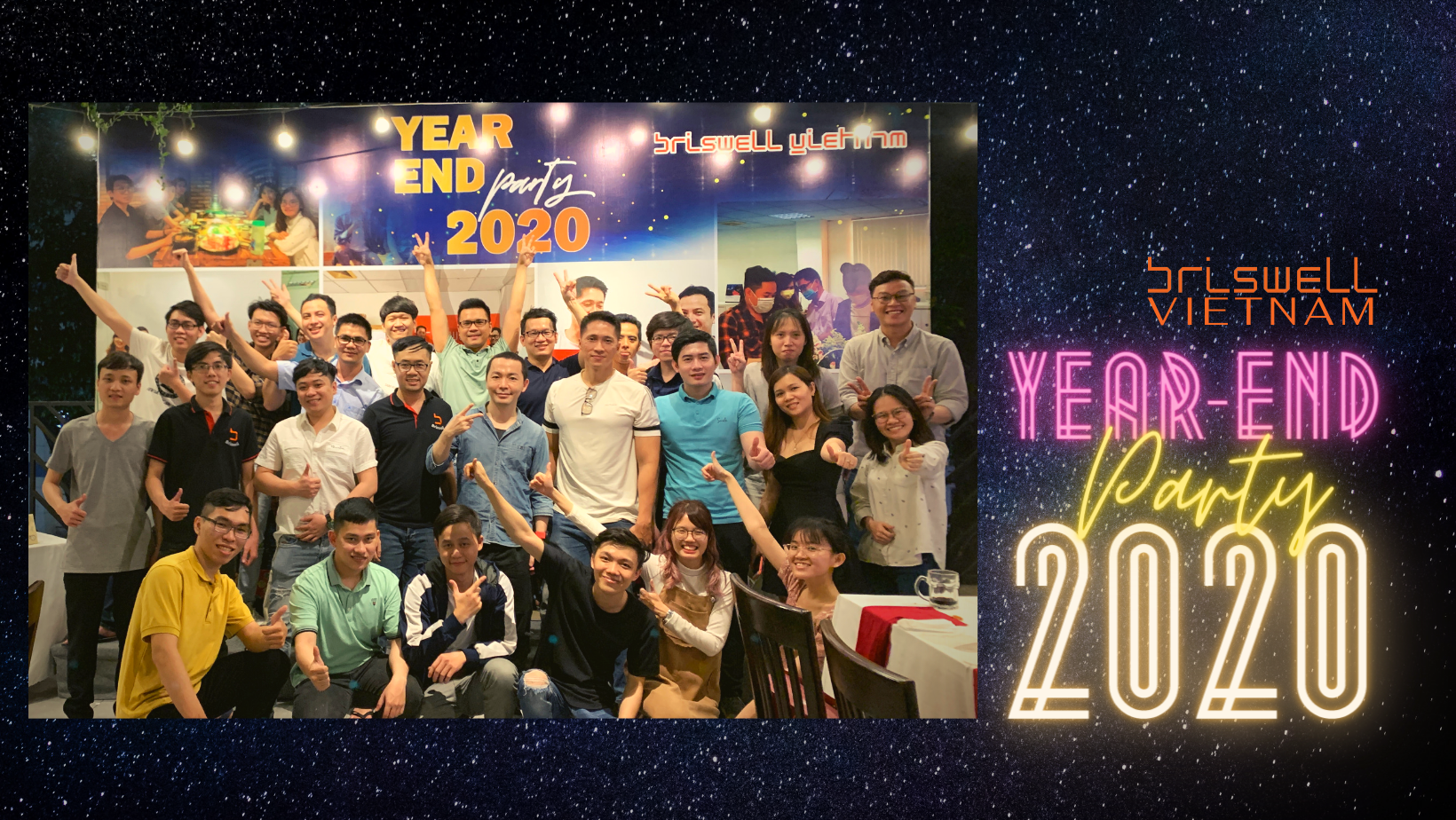YEAR END PARTY 2020 – BRISWELL VIET NAM