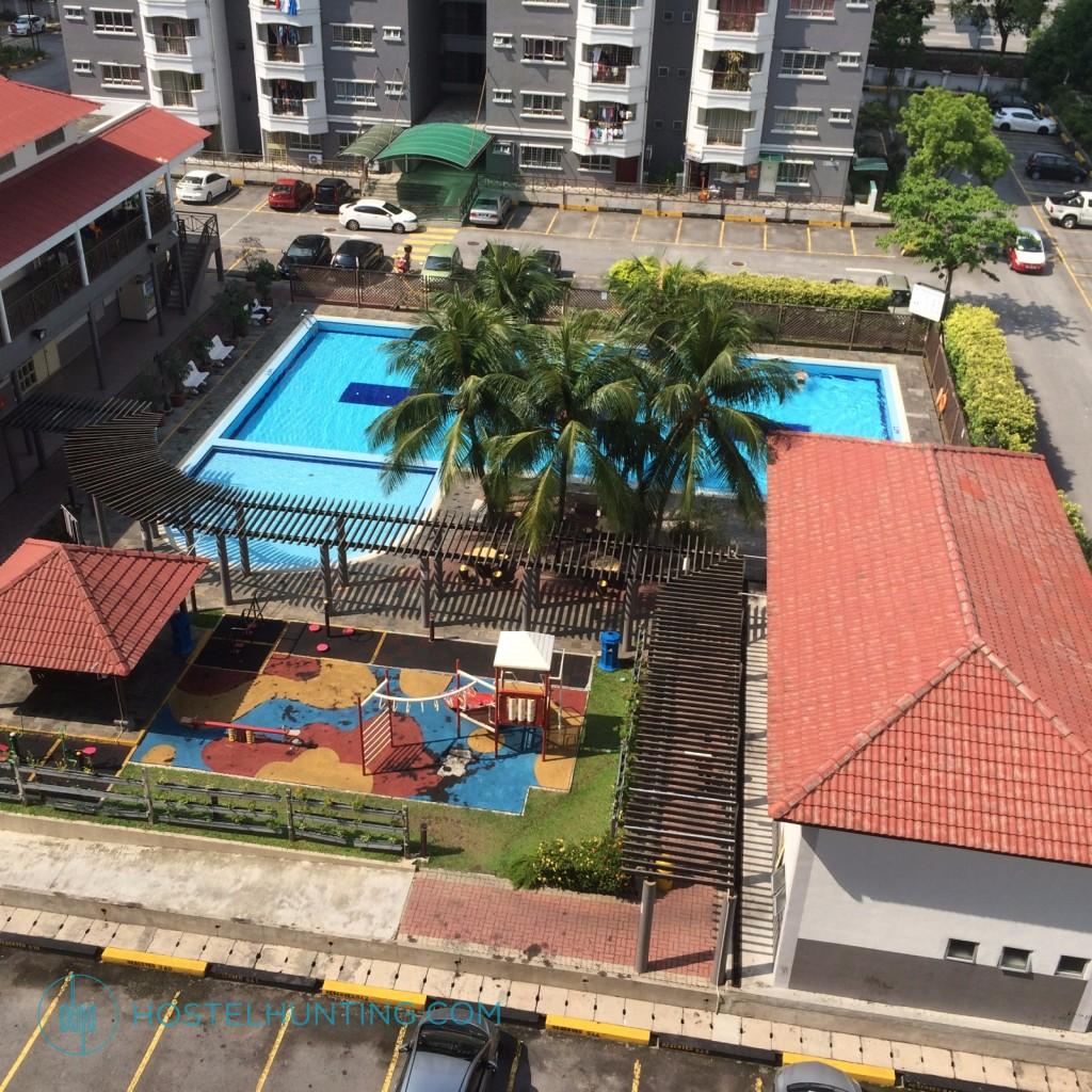 Endah Ria Condo Master Bedroom Kuala Lumpur Room For Rent Hostelhunting