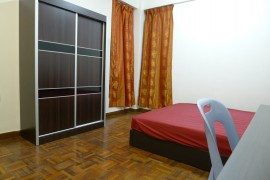 Cyberia Condo | Rooms for rent | 50% Disc on Rent Queen Bed with Aircond