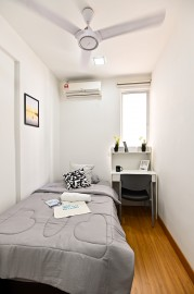 LiveIn @ Mansion Sentral Single Room Type B