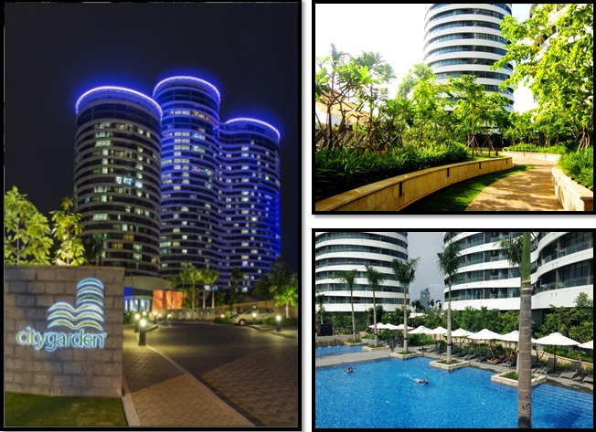 MODERN 3 BR APARTMENT FOR RENT AT CITY GARDEN