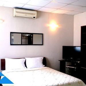 Greenview cheap serviced apartment for rent in Saigon Center