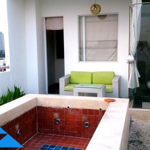Nguyen Cu Serviced apartment for rent in Thao Dien