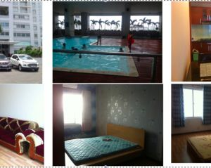 Fully equipped 3-br apartment in Goodhouse (sq. 105m2) in D8 HCM