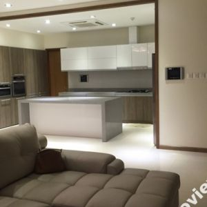 Penthouse apartment in Saigon Pearl for rent 3 bedrooms modern style