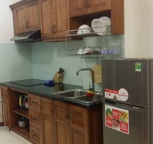 Serviced apartment for rent near Tan Son Nhat Airport with 1 bed, 2 beds room acess short term