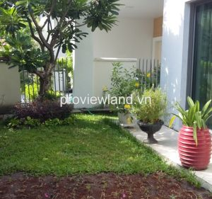 Villa for rent in Riviera Compound 300sqm 5BRs full furnished with green garden