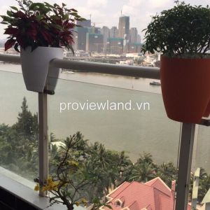 Hoang Anh Riverview apartment for sale 180sqm 3BRs open kitchen with riverview at balccony