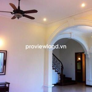 Villa for rent in Thao Dien 500 sqm 4BRs pool garden and terrace