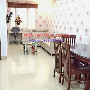 Serviced apartments for rent in Tan Binh district has 1 bedroom