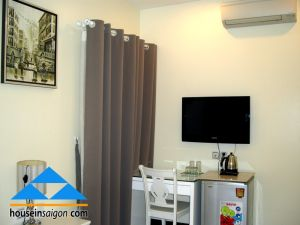 MaiHaLan studio serviced apartment for rent in Saigon, D1