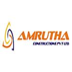 Amrutha constructions logo