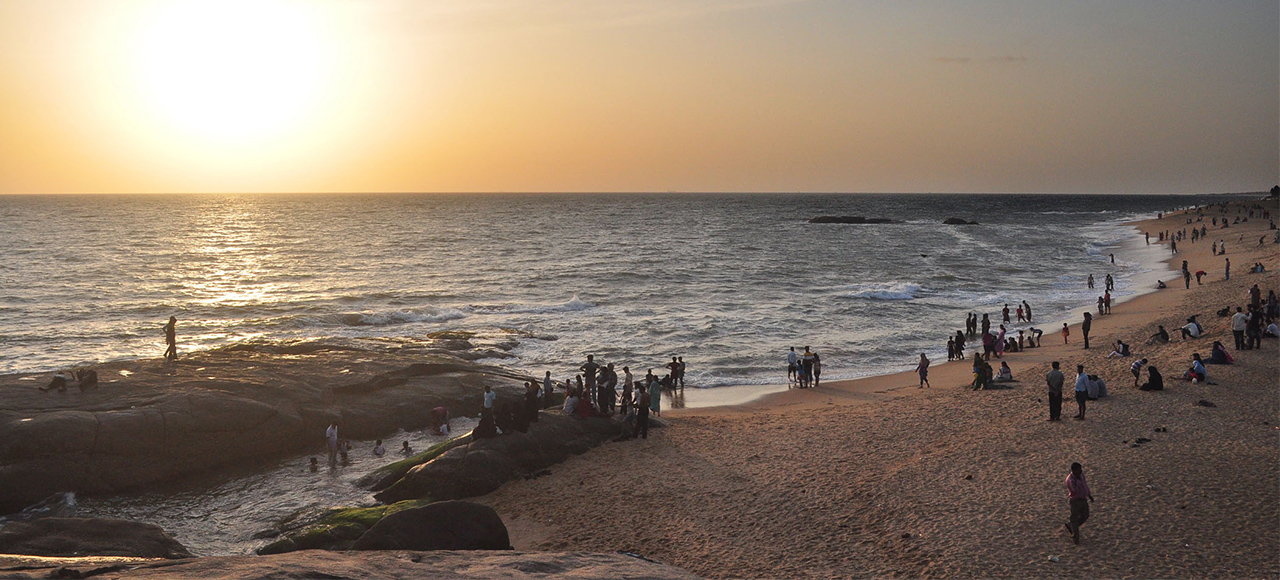 Manggalore someshwara beach