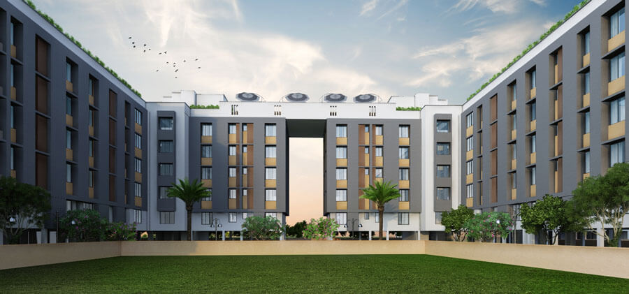 Vedic Realty Sanjeeva Shree Residency New Town Kolkata 10030