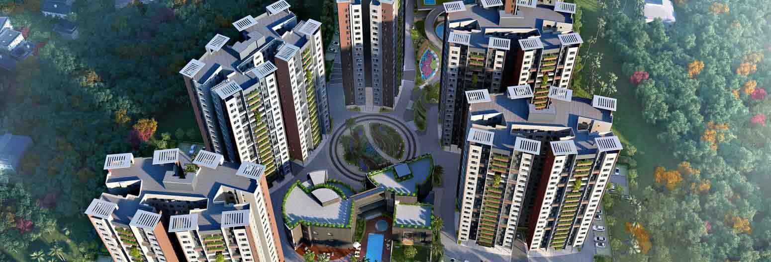 Siddha Happyville New Town Kolkata 10054
