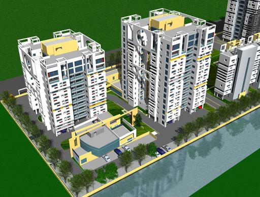 Sunny Fort New Town Kolkata 10159