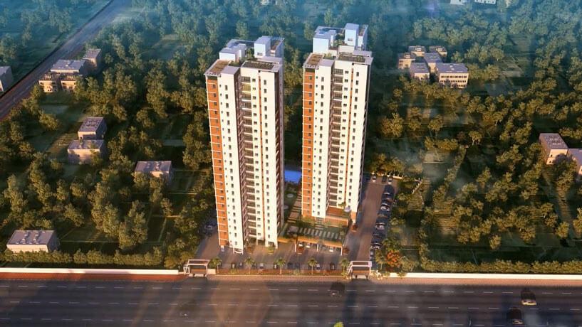 Oswal Group Orchard 126  BT Road Kolkata 10435