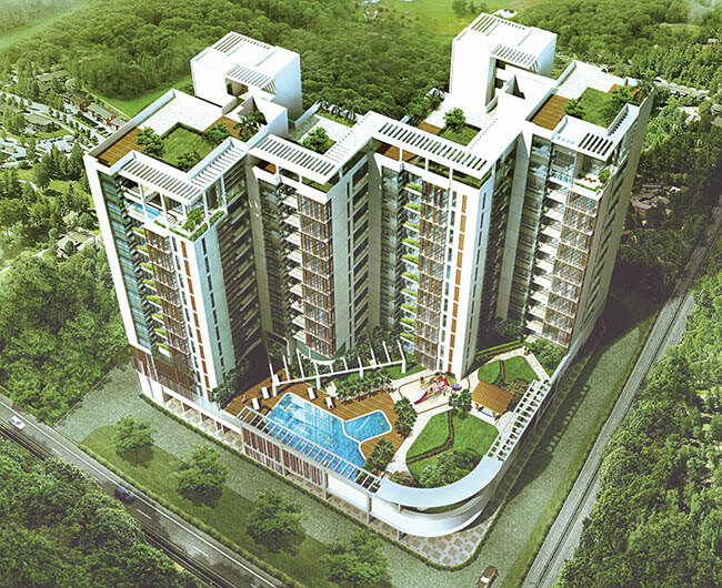 Space Group Aqua Beaumont E.M Bypass Kolkata 10480