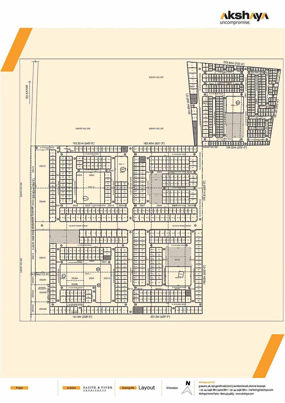 Akshaya Earth Plot Thiruporur Chennai 10684