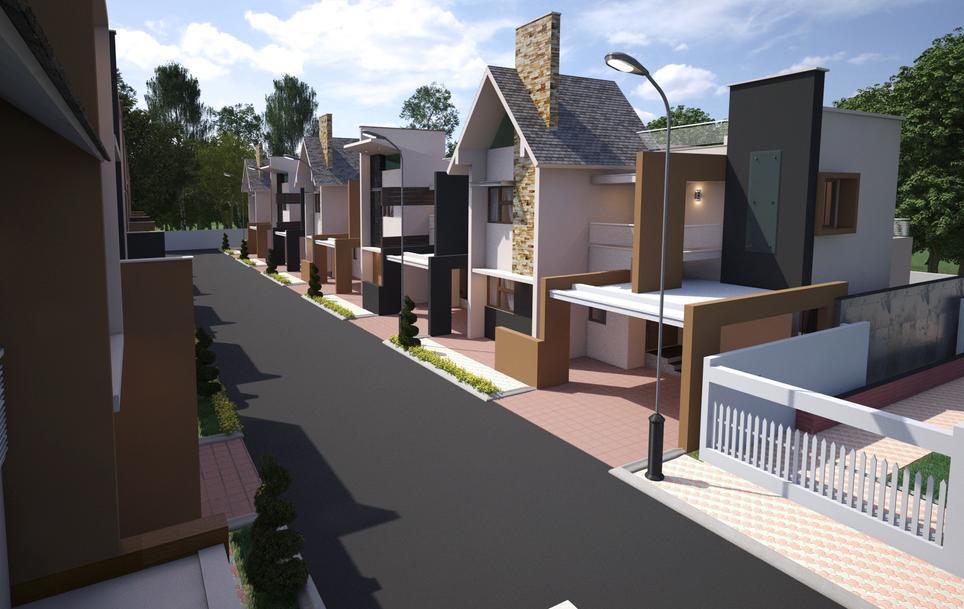 Bharti Paradise Villa Bogadi Road Mysore 11080