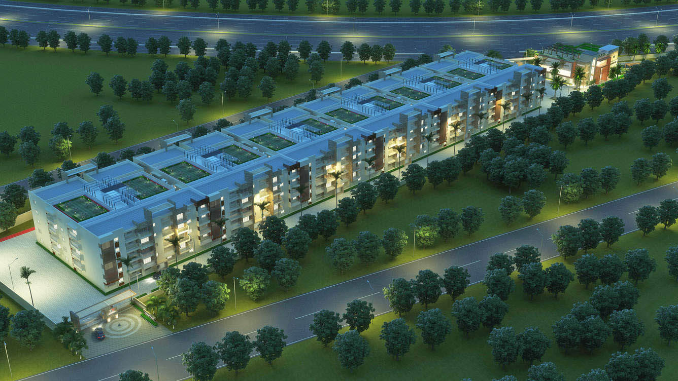 Dhruthi Tranquil Towers Whitefield Bangalore 11391