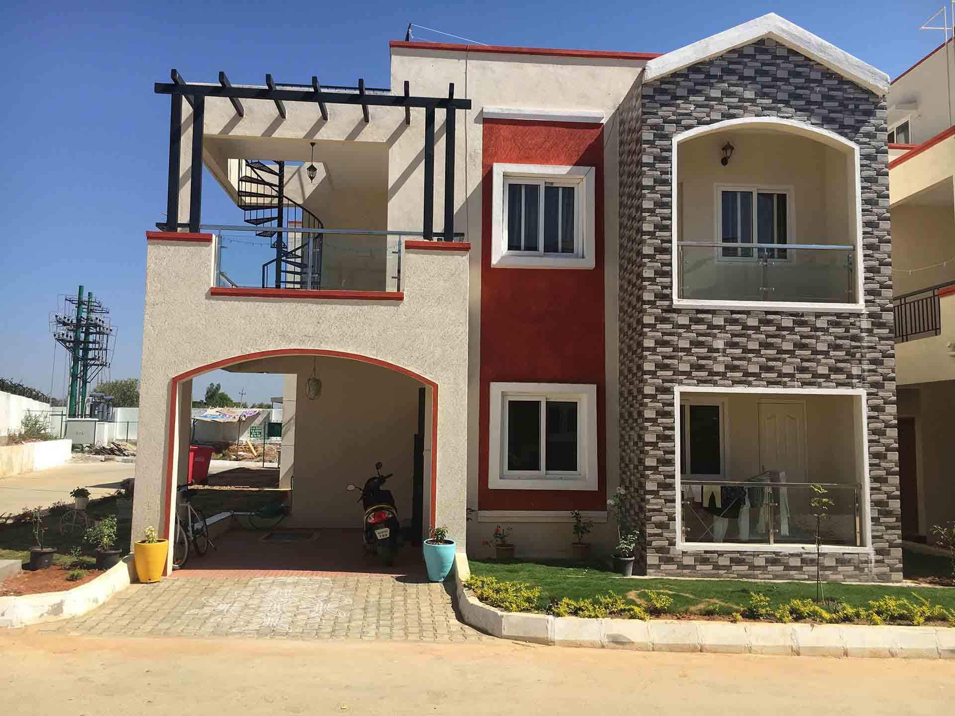 Peninsula Infra Prakruthi Villa Sarjapur Bangalore 12131