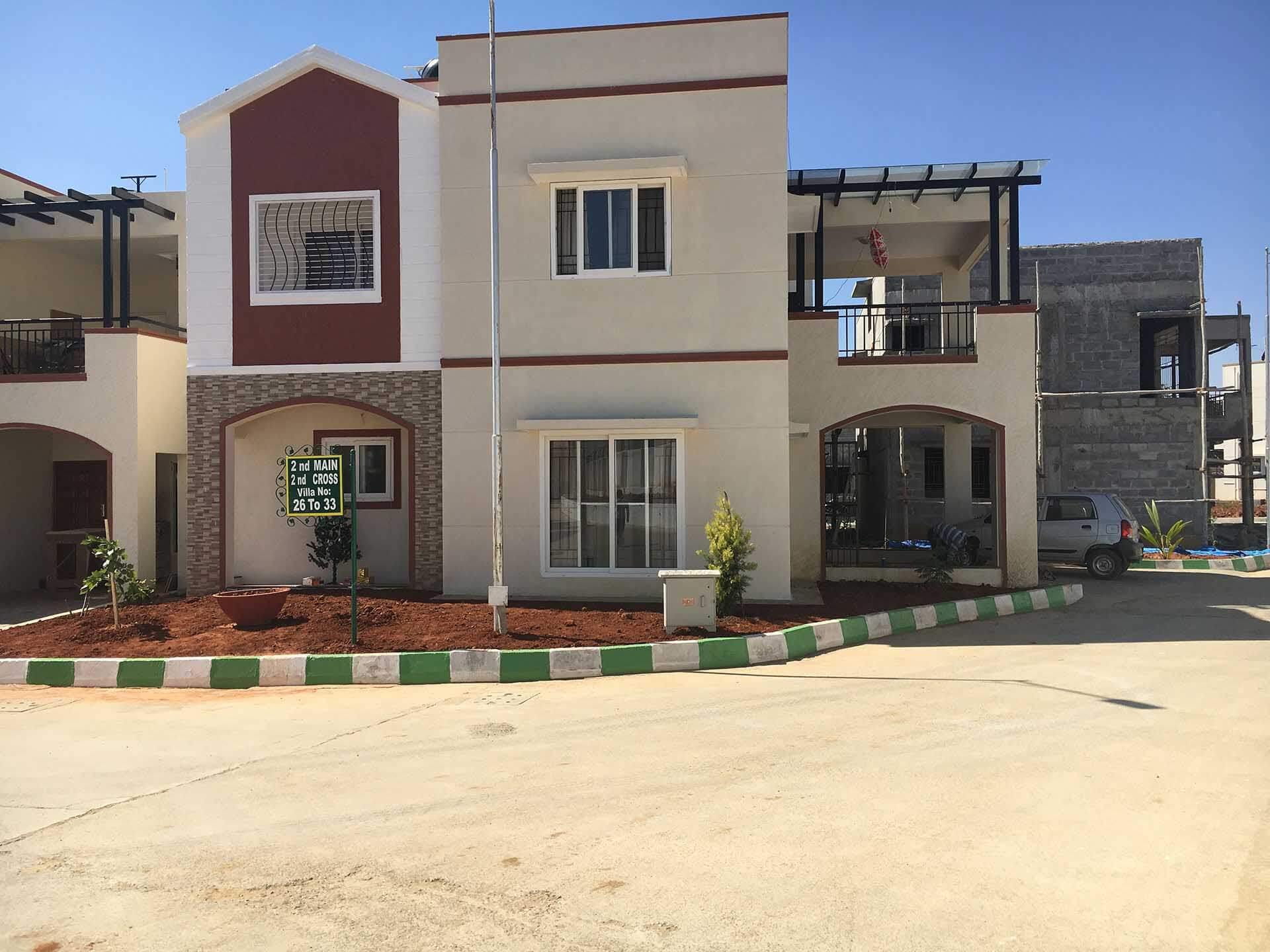 Peninsula Infra Prakruthi Villa Sarjapur Bangalore 12133
