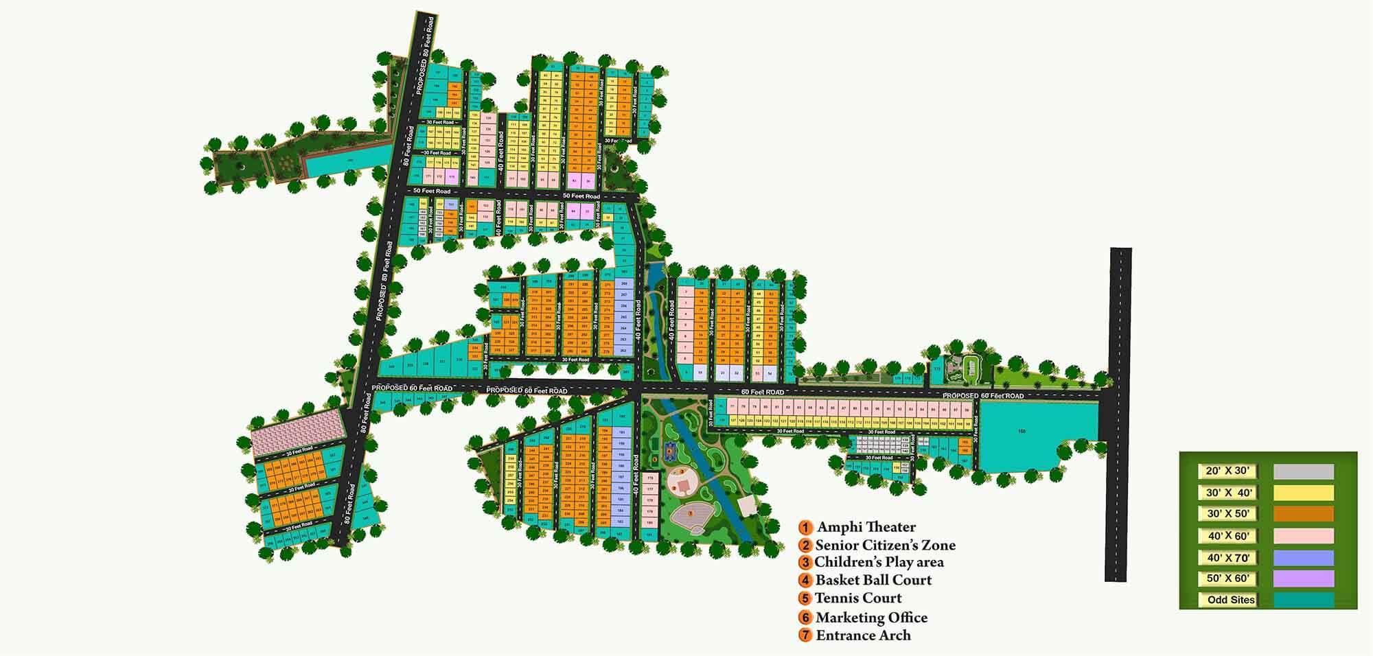 KNS Anirvan Plot Nagarabhavi Bangalore 12231
