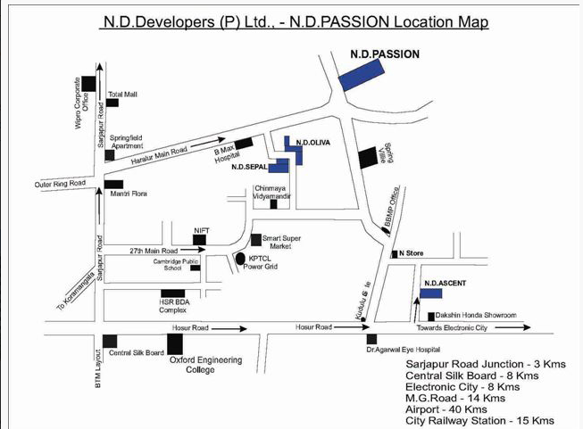 ND Passion Haralur Road Bangalore 13631