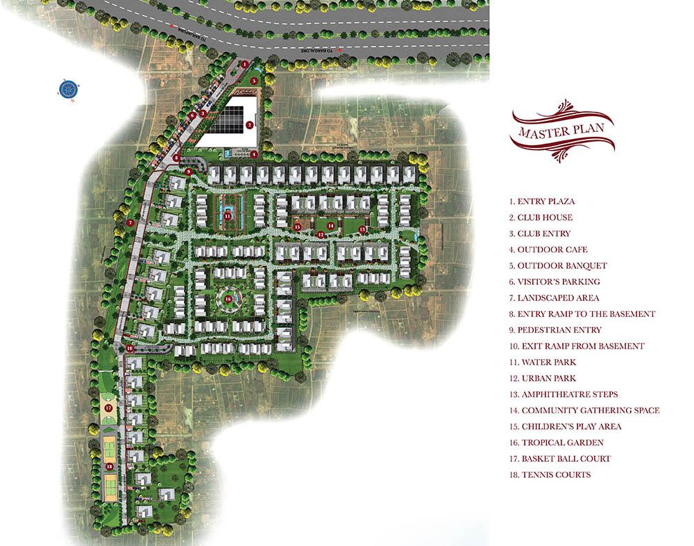 The Gran Carmen Address Villa Sarjapur Main Road Bangalore 13981
